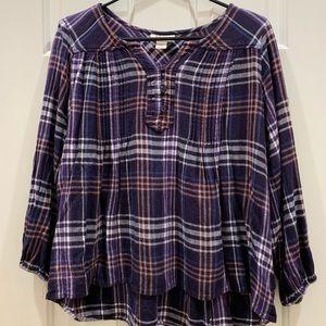 Woman's Cute Flannel Shirt